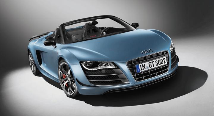 Audi R8 GT Spyder: Öppen värsting