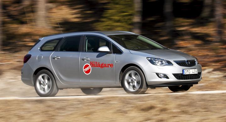 Ljustest: Opel Astra Sports Tourer