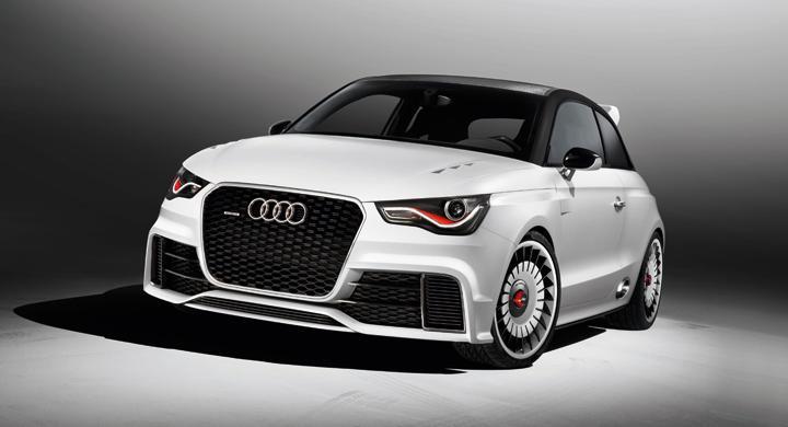 Audi A1 Clubsport Quattro – råstyrka
