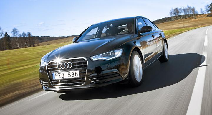 Ljustest: Audi A6