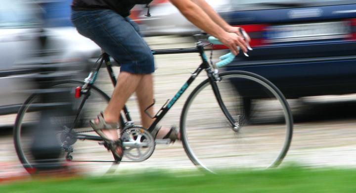 Snabb cyklist fick fortkörningsböter