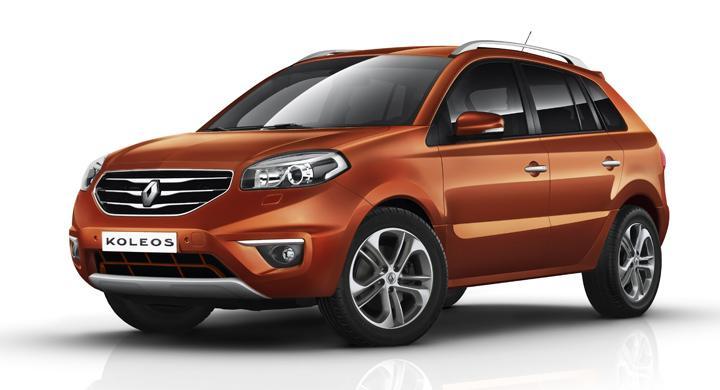 Ny Renault Koleos inte till Sverige