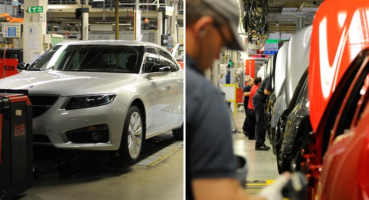 Saab stoppar återstartad produktion