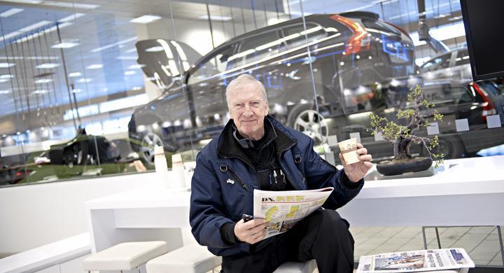 AutoIndex 2011: Samma service som på krogen