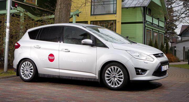 Långtest 2011: Ford C-Max i semestertest