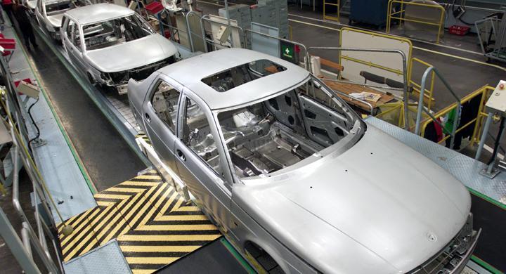 Konkursansökan mot Saab-bolag