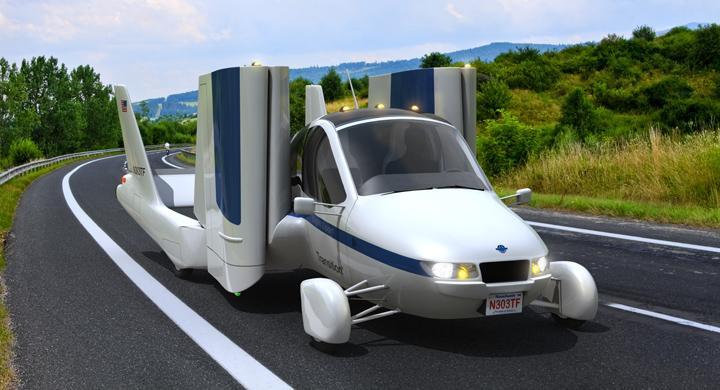 Flygande bil godkänd för trafik