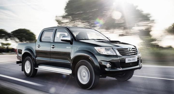 Toyota Hilux uppdateras 2012