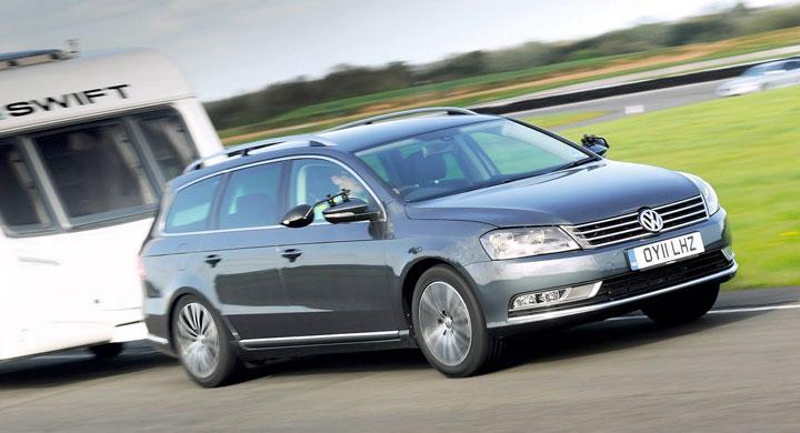 Volkswagen Passat är årets dragbil