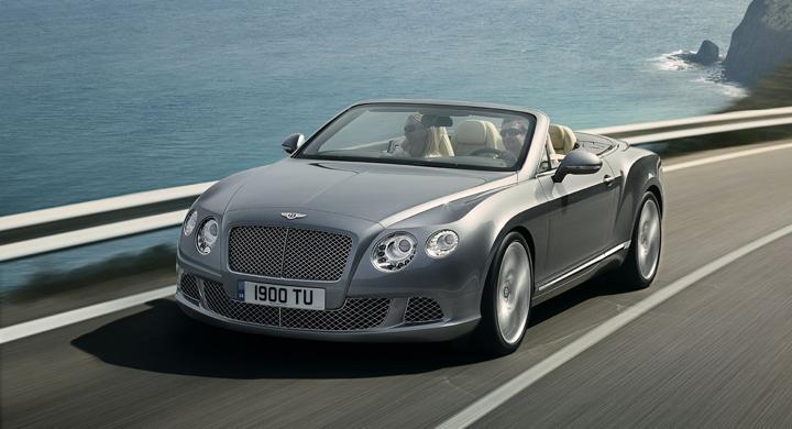 Här är nya Bentley Continental GTC