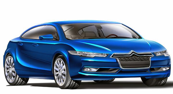 Vi skissar nästa Citroën C5