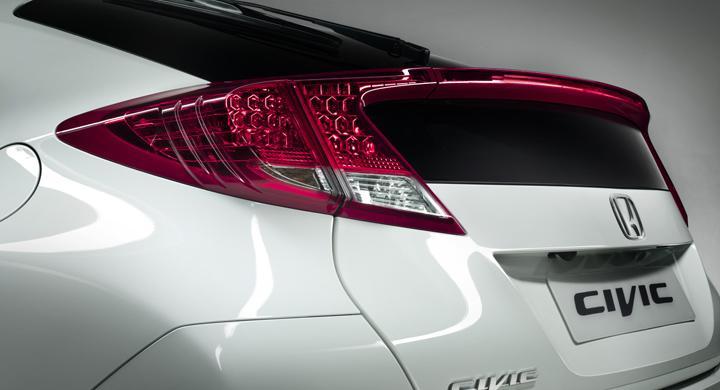 Nya Honda Civic – första bilden