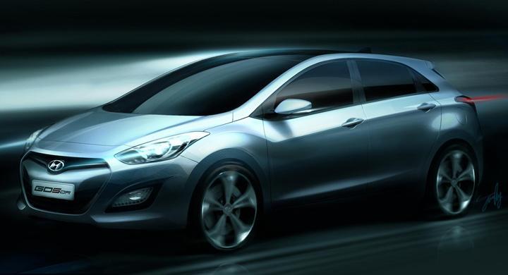 Nya Hyundai i30: Första bilden