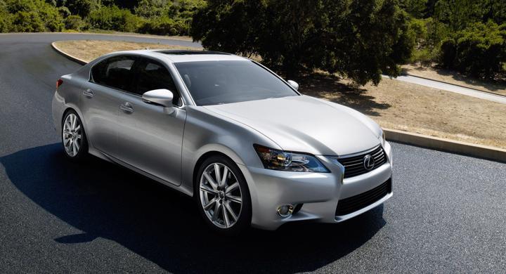 Lexus GS – ny generation 2012