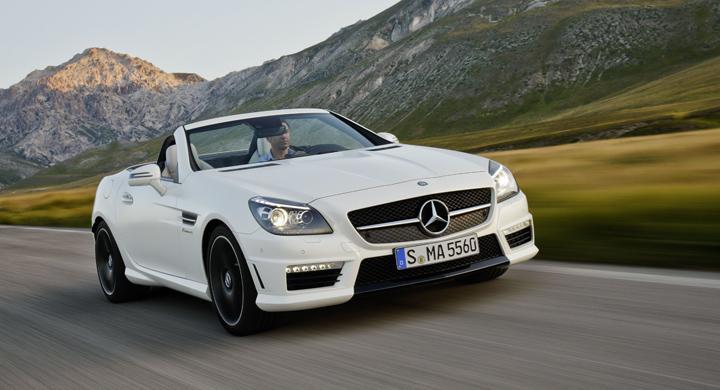 Här är nya Mercedes SLK 55 AMG