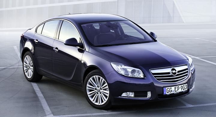 Opel Insignia uppdateras 2012