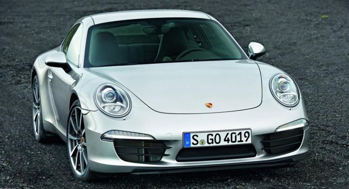 Nya Porsche 911 – första bilderna