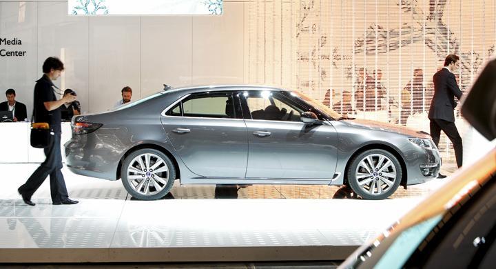 Saab uteblir från Frankfurtsalongen