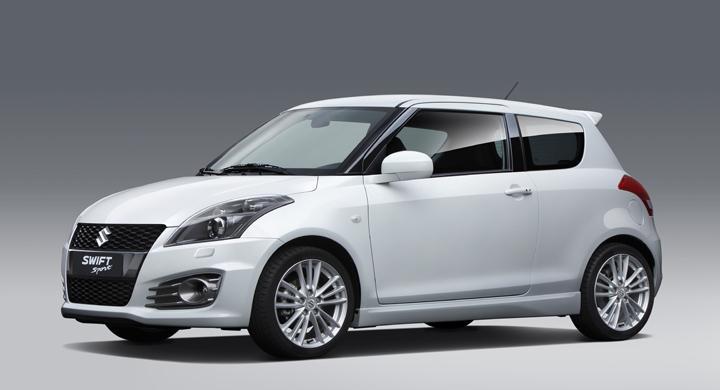 Suzuki presenterar ny Swift Sport
