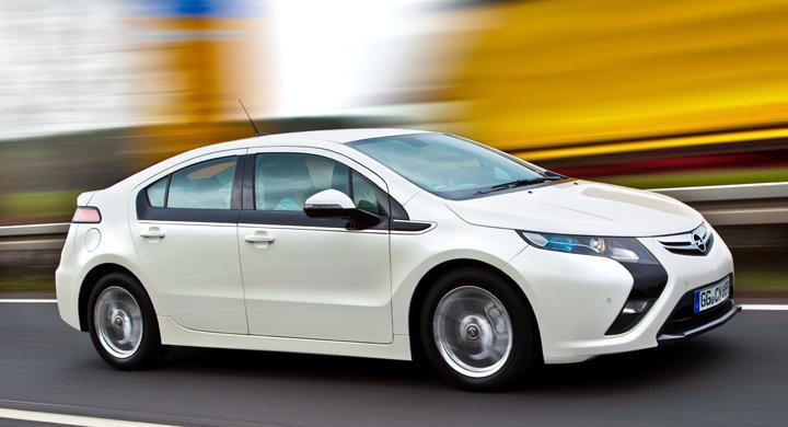 Provkörning: Opel Ampera (2011)