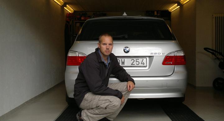 Nekad garanti för rost på BMW
