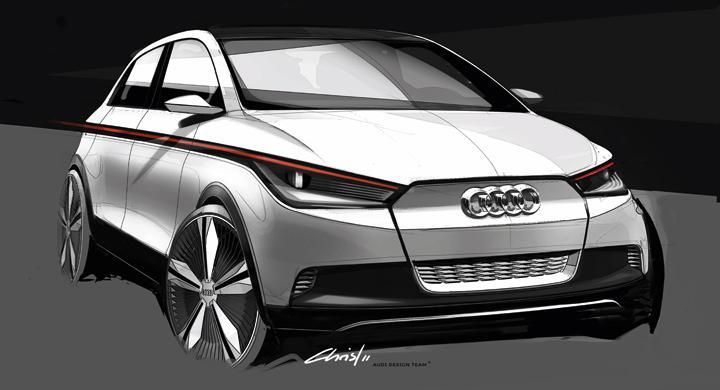 Audi A2 gör elektrisk comeback