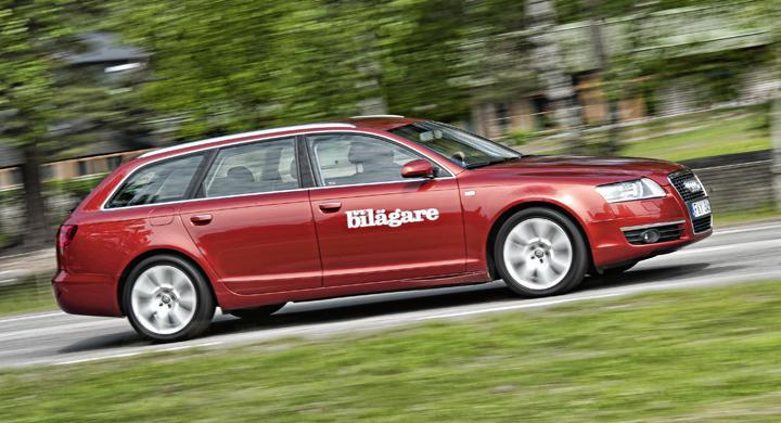 Sänkt rostbetyg för Audi A6