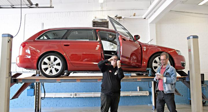 Dold rost: 20 000 Audi A6 i riskzonen