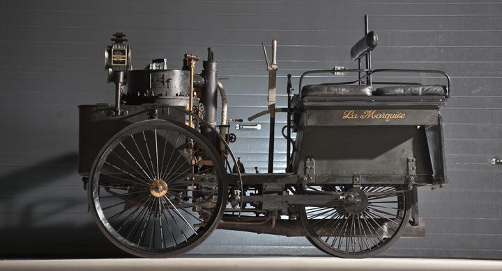 Världens äldsta bil till salu