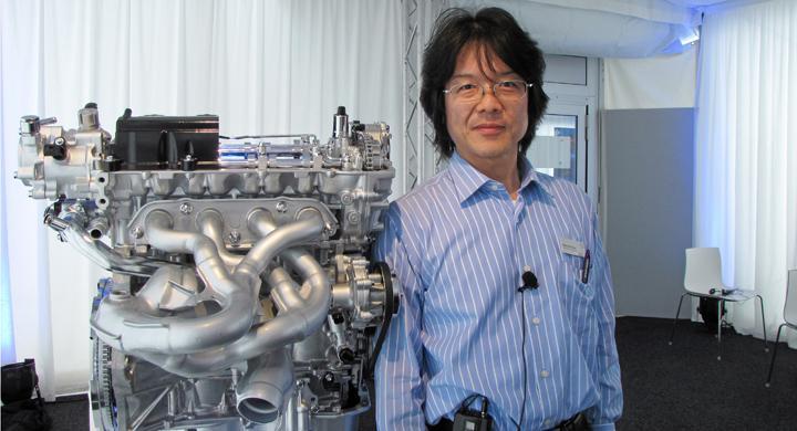 Mazda förnyar biltekniken