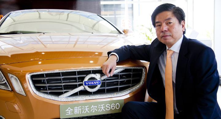 Kunglig behandling hos Volvo i Kina