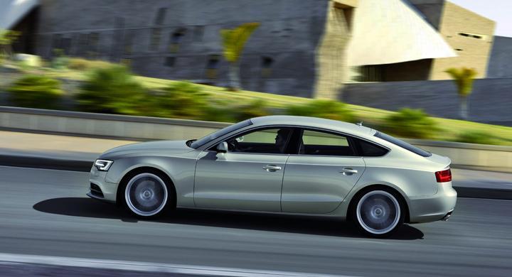 Provkörning: Audi A5 Sportback (2011)