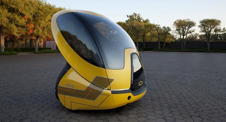 Chevrolet visar framtidens stadsbil