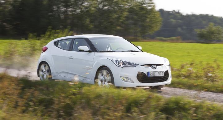 Provkörning: Hyundai Veloster (2011)