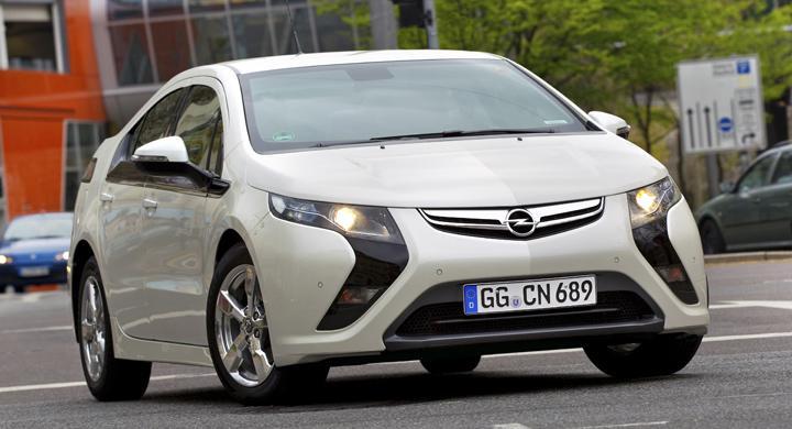 Opel Ampera är Årets Bil i Danmark