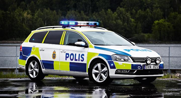 Polisen beställer Volkswagen Passat