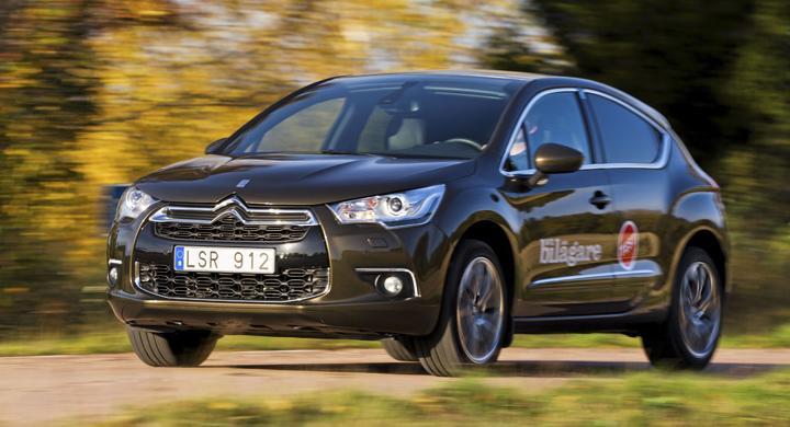 Ljustest: Citroën DS4 (2011)