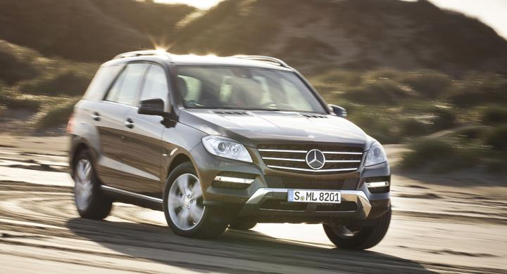 Provkörning: Mercedes ML (2011)