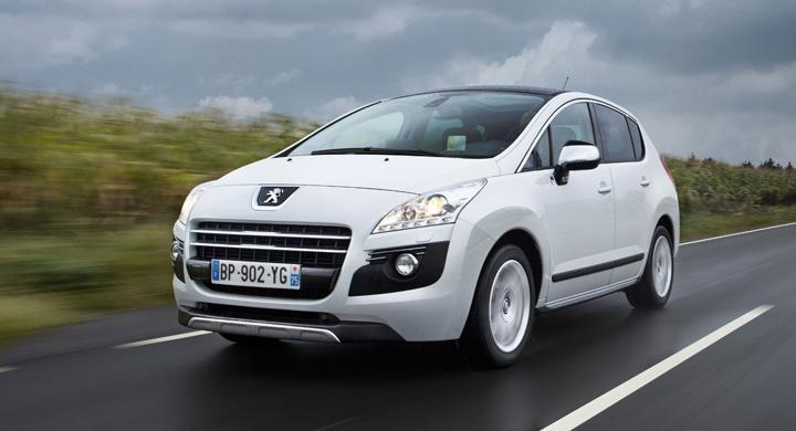 Provkörning: Peugeot 3008 Hybrid4 (2011)