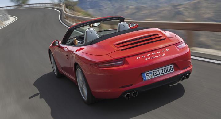 Porsche cabbar ned nya 911 Carrera