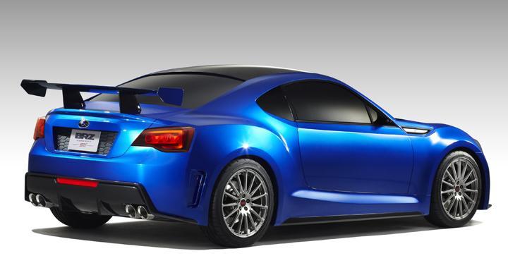 Subaru ger smakprov på nya BRZ
