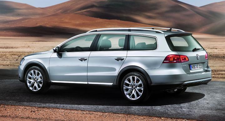 Volkswagen Passat Alltrack – ny terrängkombi