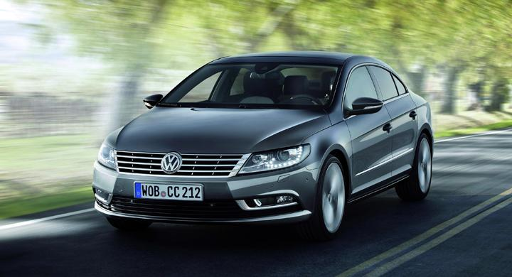 Volkswagen Passat CC uppdateras