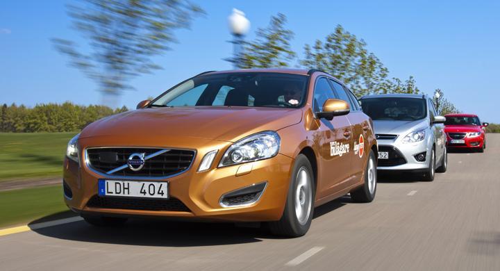 Långtest 2011: Volvo och Opel tappar minst i värde