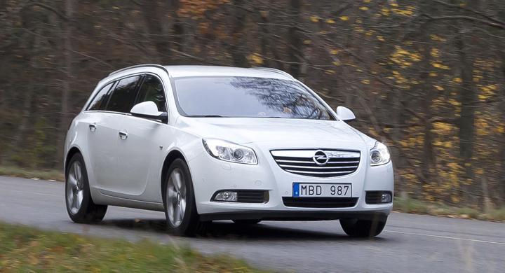 Provkörning: Opel Insignia Sports Tourer Ecoflex (2011)