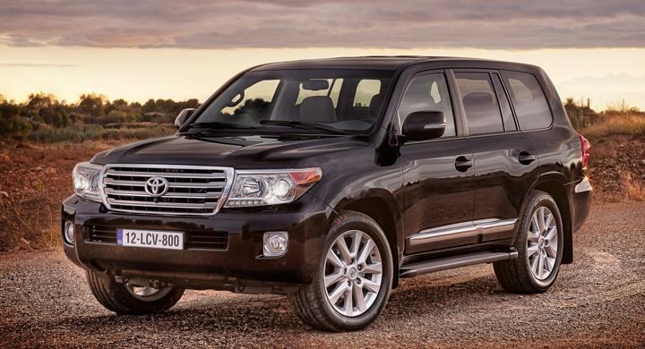 Toyota Land Cruiser V8 – uppdaterad