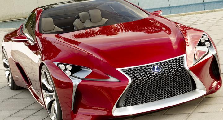 Lexus konceptbil får designpris