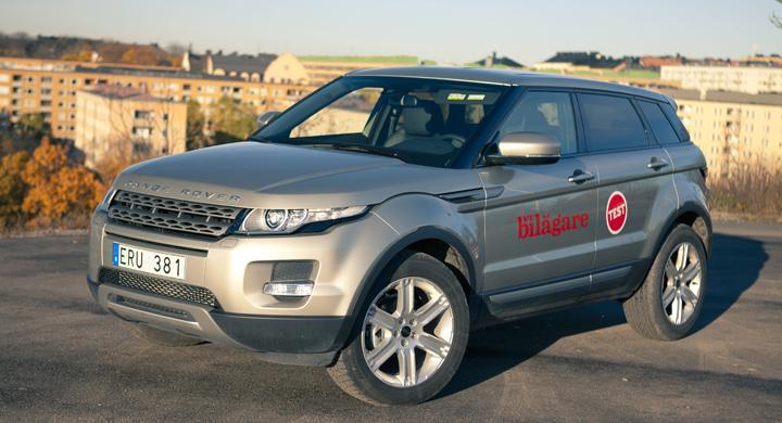 Rosttest: Range Rover Evoque (2011)