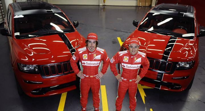 F1-förare får nya tjänstebilar