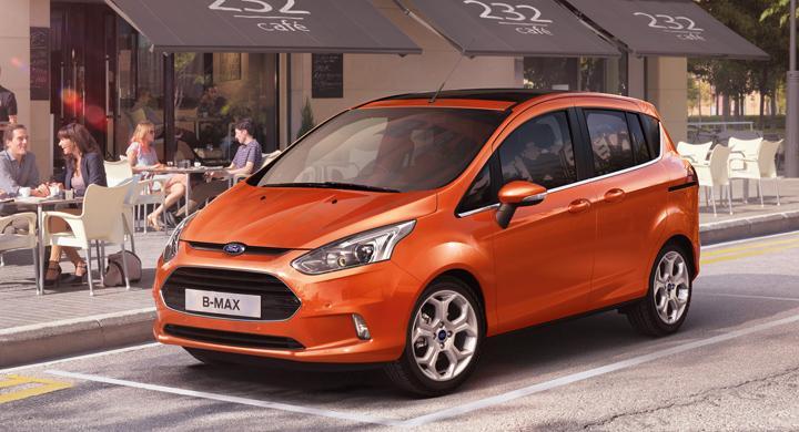 Ford B-Max – ny familjefraktare